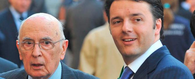 """""""Il trio Renzi-Boschi-Napolitano non passerà"""": 176 i senatori guerriglieri"""