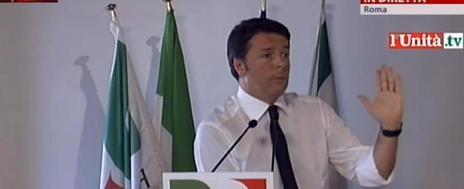 """Ora Renzi ha paura del """"suo"""" Pd. E rispolvera l'antiberlusconismo"""