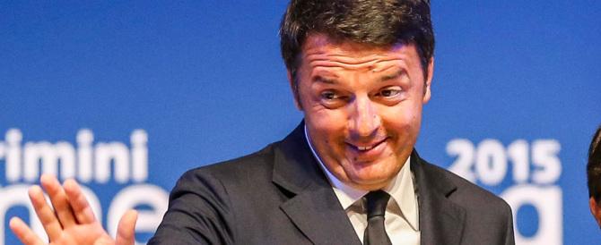 Renzi ne promette un'altra: «Abolirò l'Ires». Ma solo alla vigilia del voto