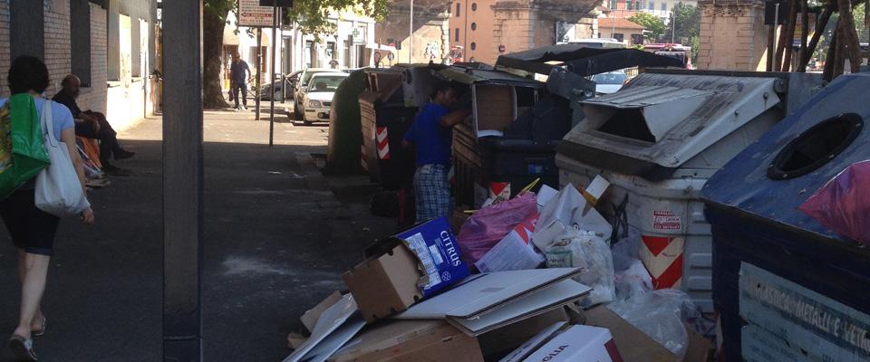 roma rom spazzatura