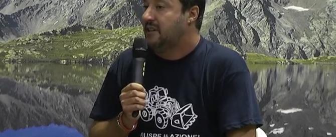 """Salvini """"apre"""" al Cav: «Le primarie? Se c'è l'accordo non servono»"""