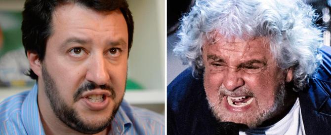 «Mandiamo a casa Renzi». Salvini chiama all'appello anche Grillo