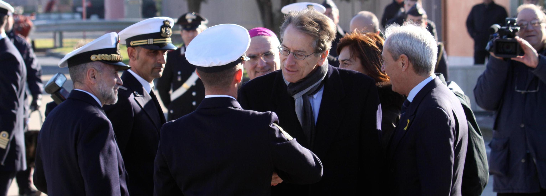 Giulio Terzi incontra a Roma i due marò nel dicembre 2012