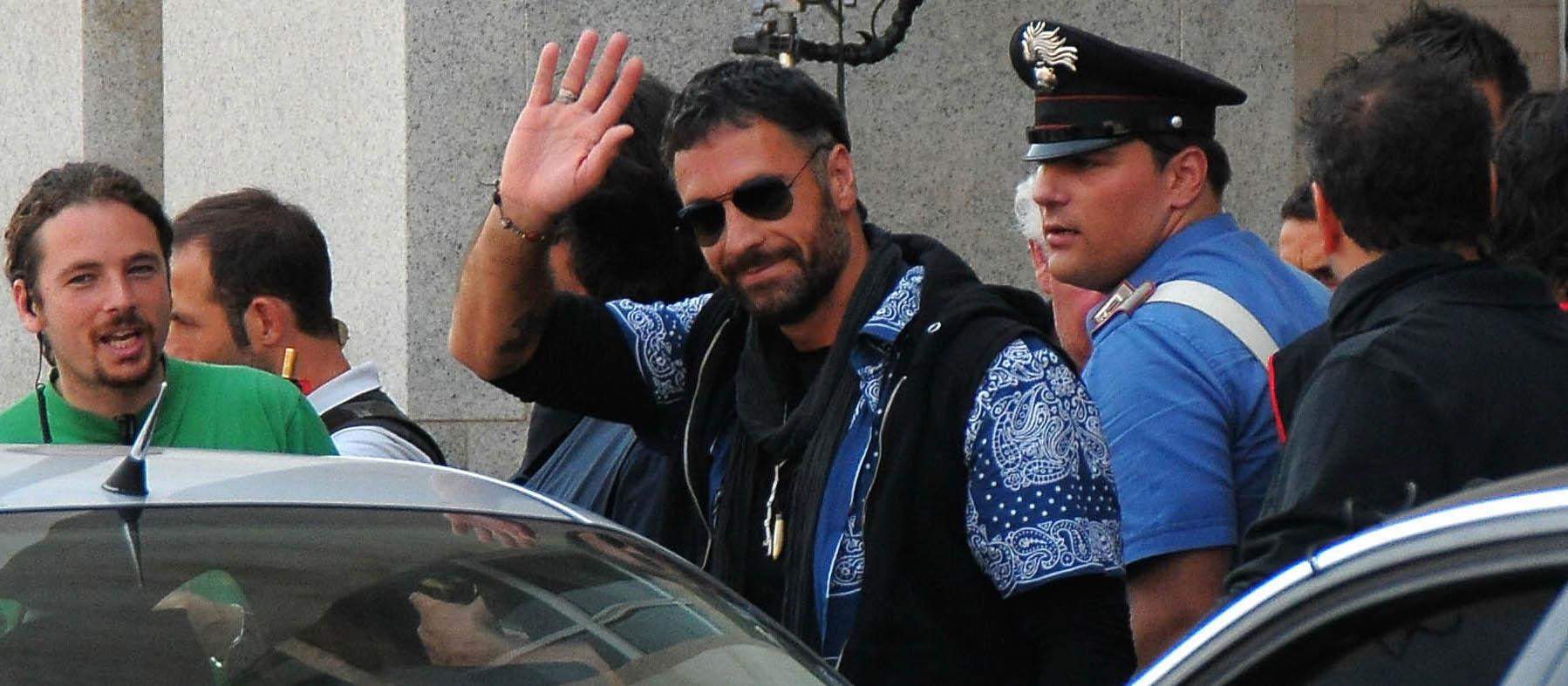 Raul Bova nel ruolo di Ultimo