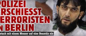 Berlino, la polizia uccide un pericoloso terrorista iracheno. Ferita un'agente