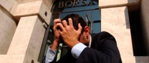 A Milano un'altra seduta nerissima: banche a picco, il governo che fa?