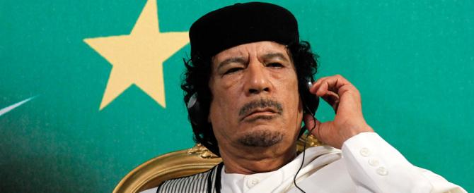 Dramma migranti:  chi volle la caduta di Gheddafi ha la coscienza sporca