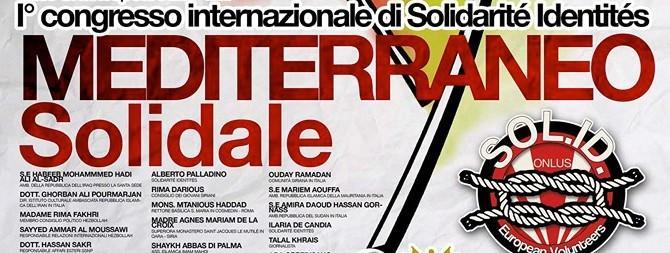 Convegno a Roma sul Mediterraneo: l'identità può battere il terrorismo