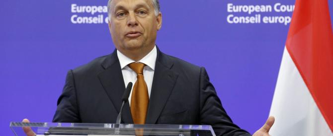Orban: «Merkel che fa? Il muro dell'Ungheria difende tutta l'Europa»