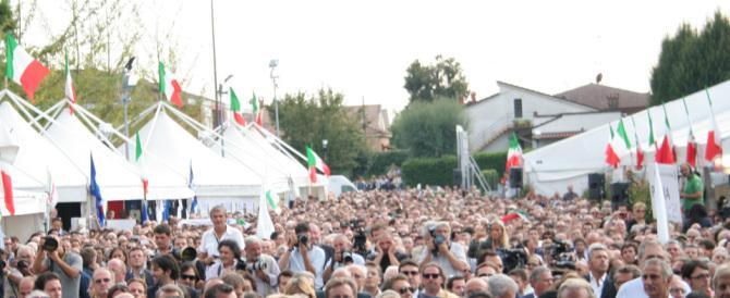 Mirabello 2015, Festa Tricolore nell'auspicio dell'unità della destra