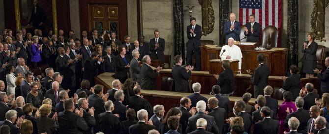 Il Papa al congresso Usa: no ai fondamentalismi, no alla pena di morte