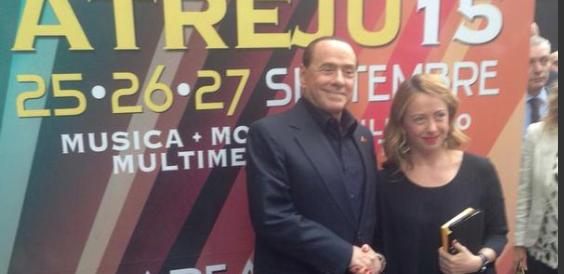 Berlusconi ad Atreju: «Sull'abolizione della tassa sulla prima casa, noi votiamo sì»
