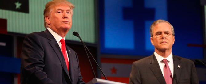 Trump vs Bush: «Siamo negli Usa: parla inglese». E gli ispanici insorgono…