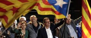 Catalogna infuriata per l'imputazione del leader secessionista Artur Mas