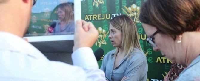 Al via Atreju 2015, Meloni: «È la festa di tutta la destra. Ripartiamo uniti da qui»