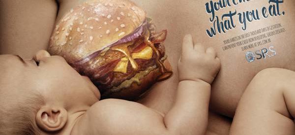 Brasile, campagna choc contro il cibo fast-food: fa male ai neonati