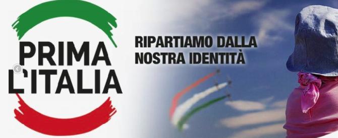 """""""Prima l'Italia"""": appello all'unità della destra. Ecco la mozione integrale"""