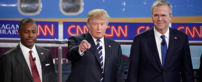 Donald Trump mette ko Jeb Bush: «Io voglio un'America amica di Putin»