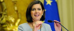 Laura Boldrini ne dice un'altra: «Sono i migranti a farci capire i nostri valori»