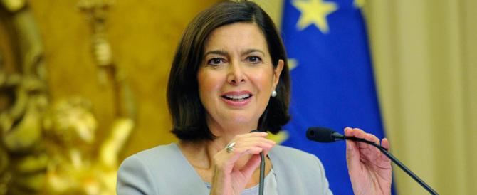 Alla Boldrini neanche l'accordo Ue-Turchia sta bene: l'Europa si tenga gli immigrati