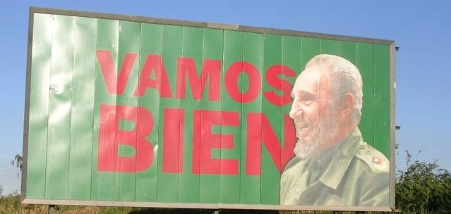 Un manifesto all'Avana
