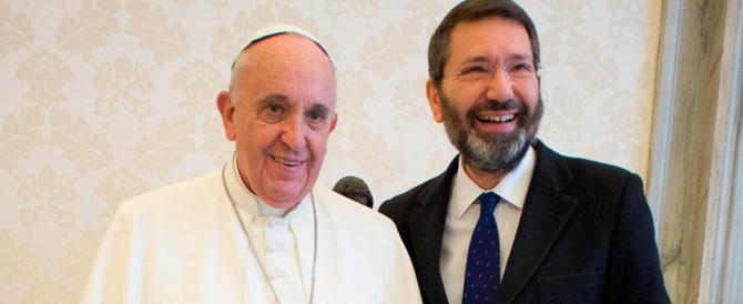 """Papa Francesco """"scomunica"""" Ignazio Marino: «Non l'ho invitato negli Usa»"""