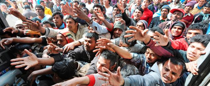 Ocse, previsione da panico: «Nel 2015 un milione di profughi  in Europa»