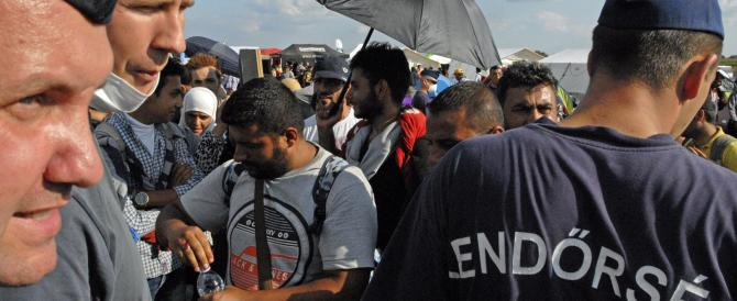 Da oggi linea dura dell'Ungheria: già sessanta i migranti arrestati