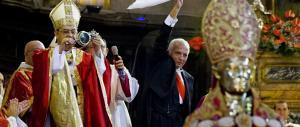 Si è ripetuto a Napoli il miracolo del sangue di San Gennaro. Sepe: basta camorra