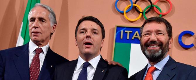 Olimpiadi 2024: Roma nella cinquina. Il Matteo ridens festeggia, chissà perché