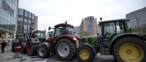 """""""Europa svegliati"""". Agricoltori e produttori di latte """"bloccano"""" Bruxelles"""