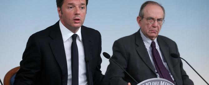Economia, Renzi mostra ottimismo. Ma dalla Fed solo notizie negative