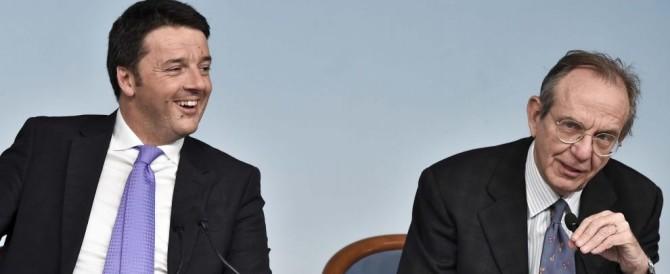 Il bluff di Renzi sui conti pubblici: così sull'Imu fa il gioco delle tre carte