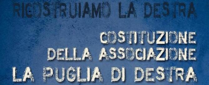 """Nasce """"La Puglia di Destra"""". Per proseguire il cammino di Tatarella"""