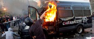 Scontri a Roma: «Date 11 anni a chi incendiò la camionetta dei carabinieri»