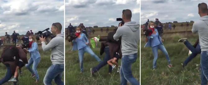 «Fatemi uno sgambetto», l'ironia dei migranti: la reporter ha fatto la nostra fortuna