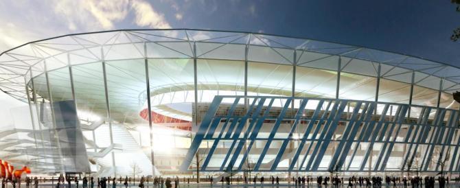 """Stadio della Roma, altra botta per Marino: """"l'area è a rischio esondazioni"""""""