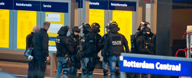 Olanda, allarme terrorismo sul treno Amsterdam-Parigi. Fermato un uomo