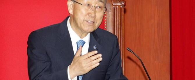 Ban-ki Moon: «La fame è ingiusta». Ecco, cominci a regalare il suo stipendio