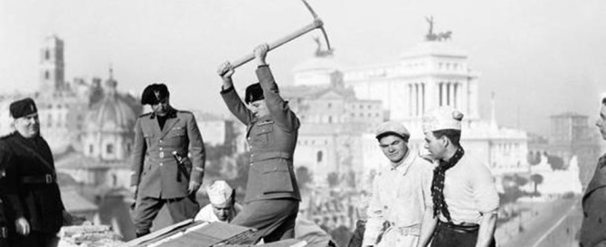 E Vespa elogiò Mussolini: «Se Roma è una città europea, è solo grazie a lui»