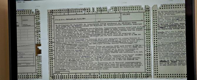 Berlino prepara un software per ricostruire i file segreti della Stasi