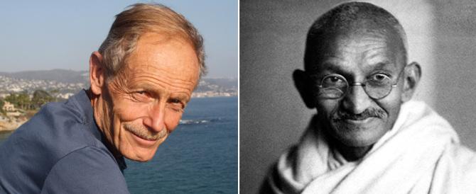 Erri De Luca come Gandhi? Una sciocchezza che offende i veri pacifisti