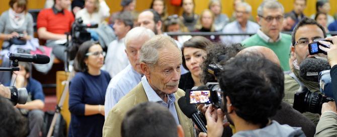 Assolto Erri De Luca: «La gente era con me, sono deluso dagli intellettuali»
