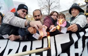 Immigrazione: protesta Fratelli d'Italia a Torino