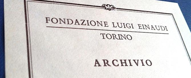 Fondazione Einaudi, Berlusconi offre 200mila euro per salvarla. Zanone dice no