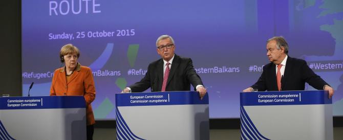 Juncker: fuori i migranti non registrati. L'Ue trova l'accordo. Malgrado Renzi…