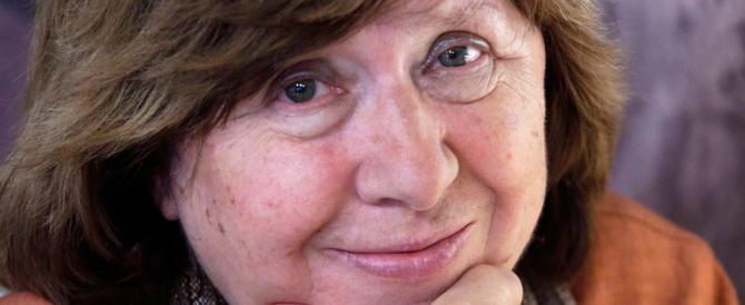 Il premio Nobel per la letteratura alla bielorussa Svetlana Alexievich