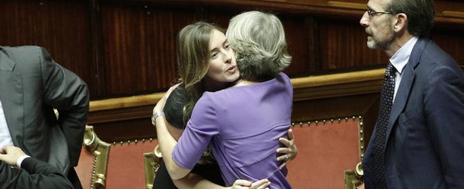 Senato, sì alla riformicchia: le opposizioni lasciano l'aula per protesta