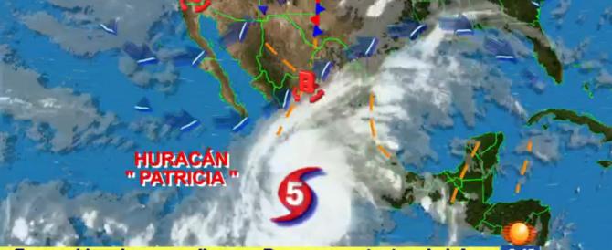 Messico: l'apocalisse si chiama Patricia, l'uragano più forte della storia