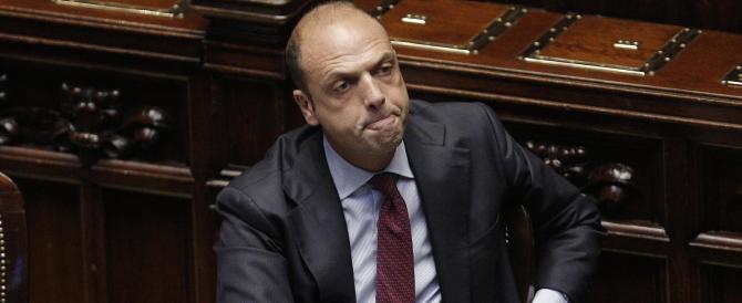 Alfano: «Senza di noi il diluvio. L'Italia sarebbe andata a rotoli»